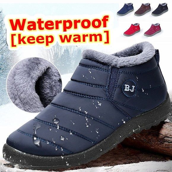 Flash Sale Couples Waterproof Winter Warm Boots