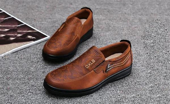Shoes - Men Casual Fashion Leather Shoes
