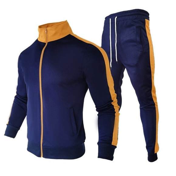 Fashion New Mens 2pc Suit Sportswear