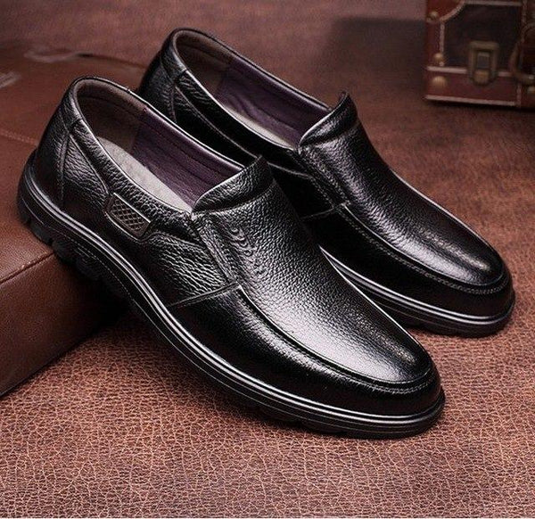 Men Shoes - 2019 Genuine Leather Slip On Men Loafers Shoes (Buy 2 Get 10% off, 3 Get 15% off Now)