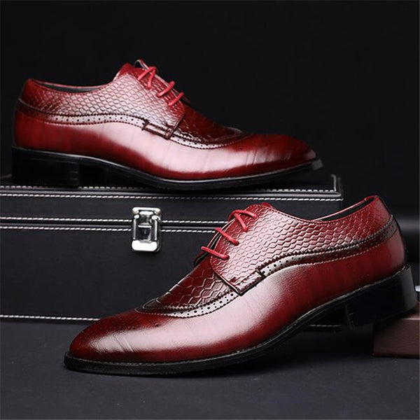 Men's Shoes - British Style Classic Business Formal Shoes