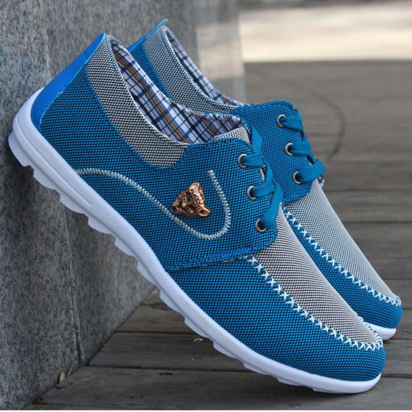 Mens Breathable Walking Driving Footwear Male Comfortable Outdoor Leisure Shoes