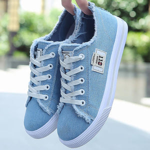 New Summer Breathable Comfortable Canvas Shoes