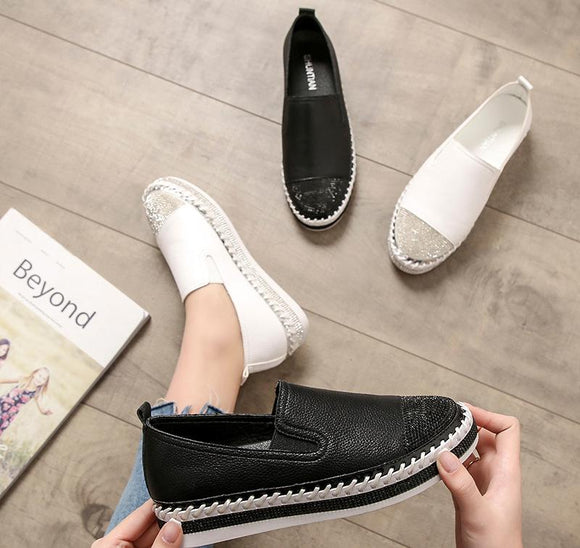 Summer Women Flats Patchwork Espadrilles Shoes (Buy 2 Get extra 5% off,Buy 3 Get Extra 10% off)