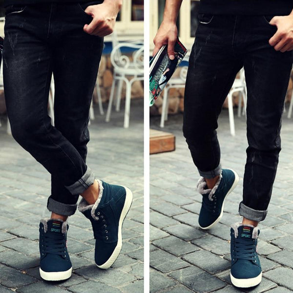 Men Shoes - Fashion Men Lace Up Men Ankle Boots
