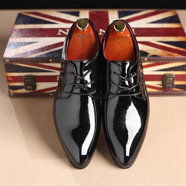 Shoes 2019 New Patent Men S Fashion Dress Shoes Buy One Get One 20 Yokest