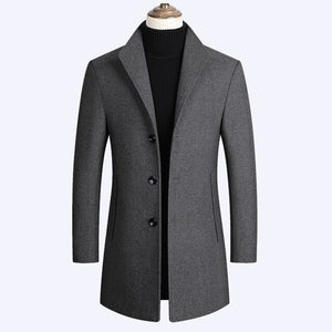 Fashion Men's Jacket Trench Coat(Buy 2 Get 10% off, 3 Get 15% off )