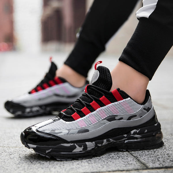 Hot Fashion Lace-up Jogging Fitness Air Sports Shoes