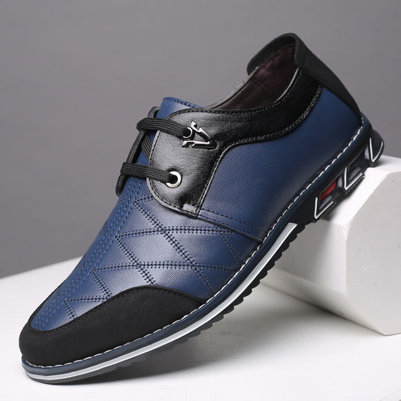 Brand Genuine Leather Men Casual Shoes