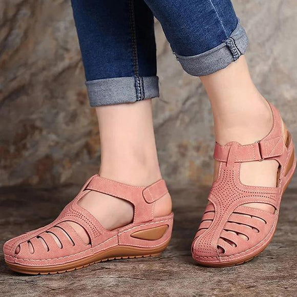Yokest Women Hollow Out Gladiator Wedges Sandal(Buy 2 Get 10% OFF,Buy3 Get 15% OFF)