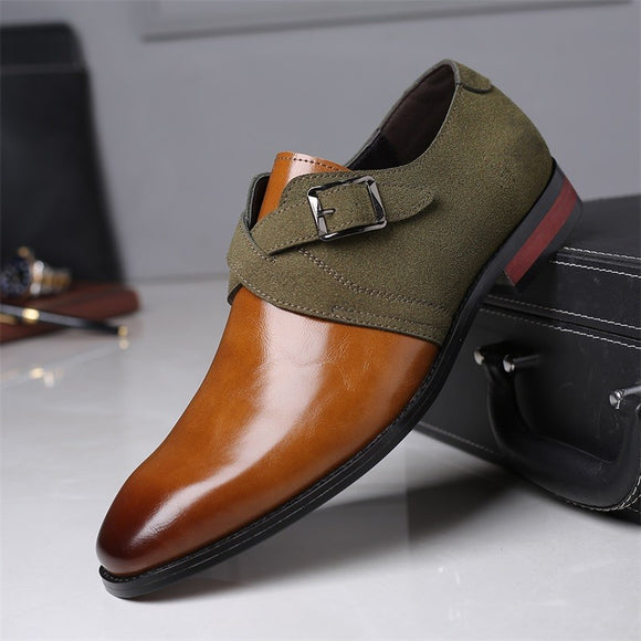 New Fashion Leather Men Dress Shoes(Buy 2 Get 10% off, 3 Get 15% off )