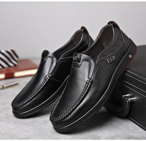 Shoes - Men's Casual Leather Shoes with Soft Sole