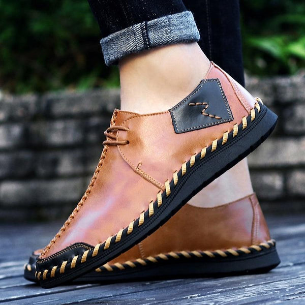 Men's Shoes - Brand New Casual High Quality Split Leather Shoes
