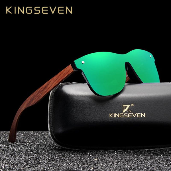 Natural Wooden Men Polarized Fashion Original Wood Sunglasses