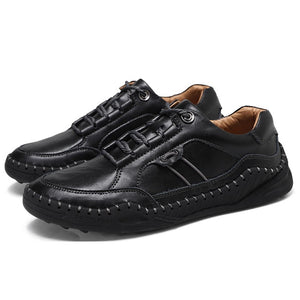 Men Moccasins Leather Casual Shoes