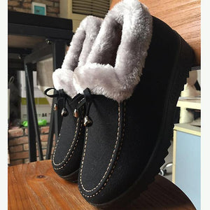 Women's Shoes - Winter Warm Down Snow Boots