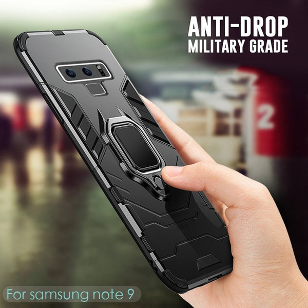 Luxury Shockproof Armor Case For Samsung
