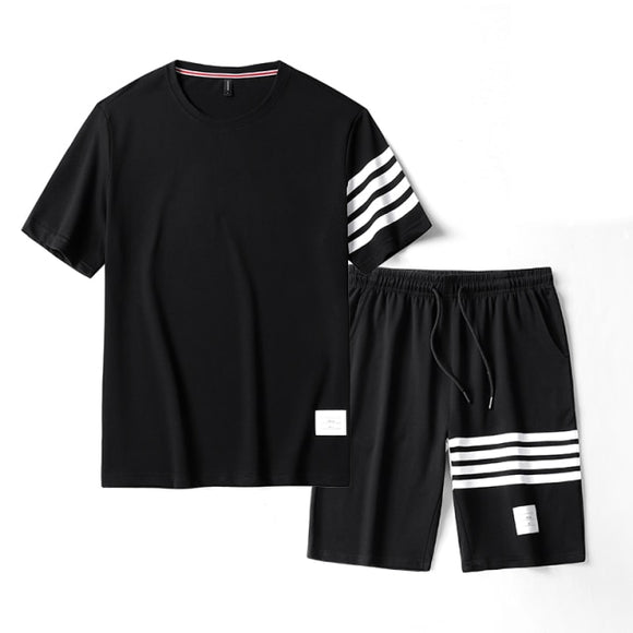 Men's Clothing 2021 T-Shirts Shorts Sets