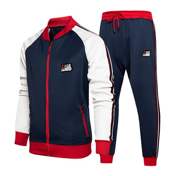 Autumn Winter Mens Sweatsuit Set
