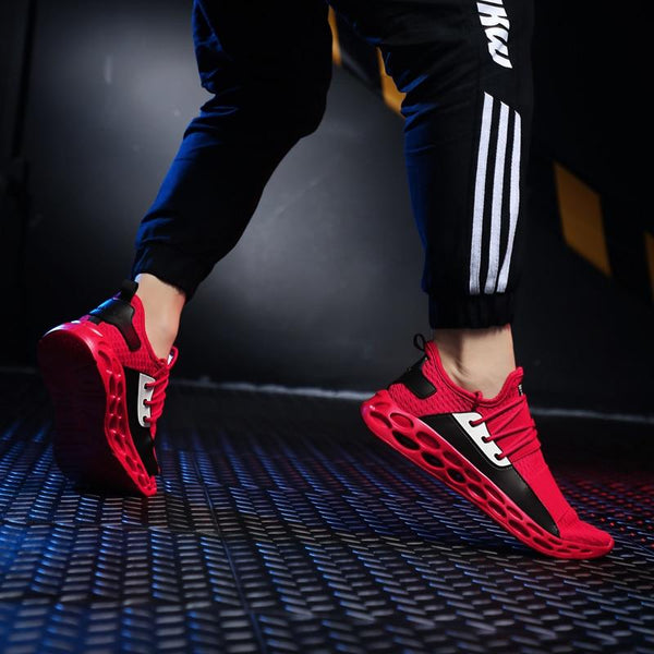 Hot Sale Plus Size Breathable Jogging Trainers Sneakers