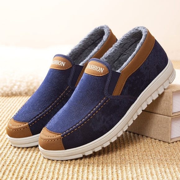 Mens Winter Plus Cotton Loafers Shoes(Buy 2 Get 10% OFF, 3 Get 15% OFF, 4 Get 20% OFF)