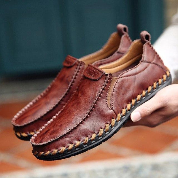 Shoes - 2019 Men's Leather Slip On Casual Shoes