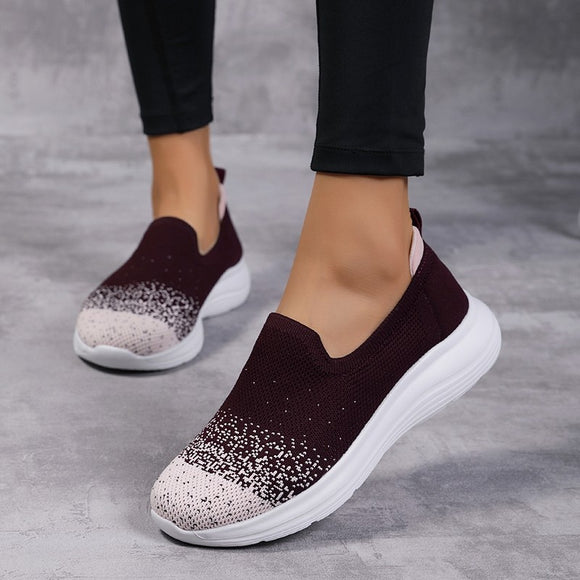 Mesh Lazy Women Walking Shoes