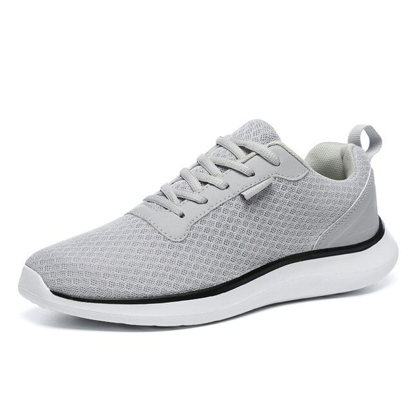 Plus Size 2019 Men Breathable Basic Light Sneakers