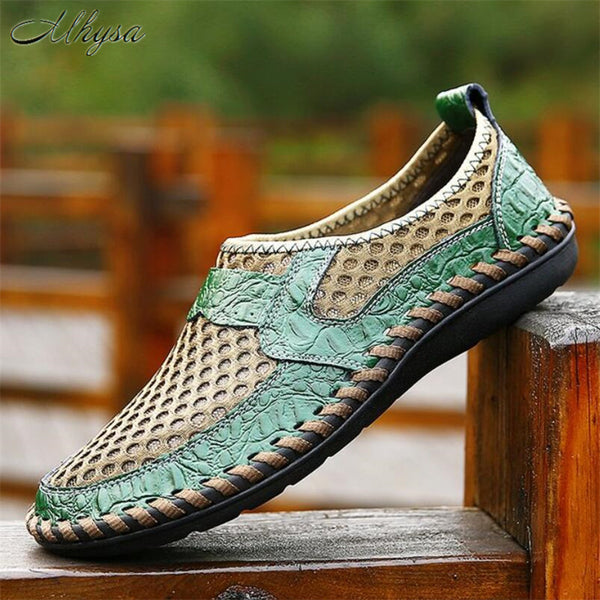 Men's Shoes - Mesh Casual Soft Comfortable  Breathable Lightweight Slip-On Shoes