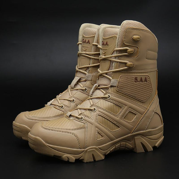 Men's Microfiber Tactical Boot Motorcycle Boots