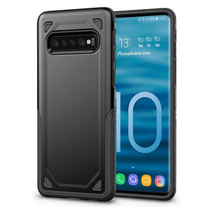 Luxury Armor Shockproof PC+TPU Protective Cover For Samsung S10e S10 Plus S9 Plus S8 Plus S7 Edge Note 9