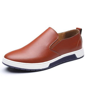 Casual Men's England Trend Breathable Leather Shoes(Buy 2 Get 10% OFF, 3 Get 15% OFF)