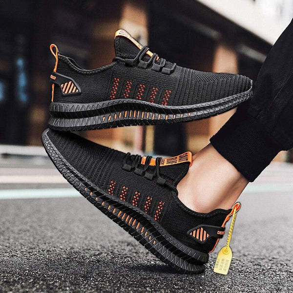 New Couple Running Mesh Flats Unisex Sport Sneakers