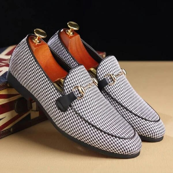 Shoes - Men Fashion Business Flat Slip-On Dress Loafers Doug Shoes