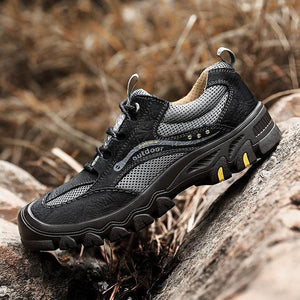 New High Quality Cowhide Mens Genuine Leather Outdoor Mountains Shoes