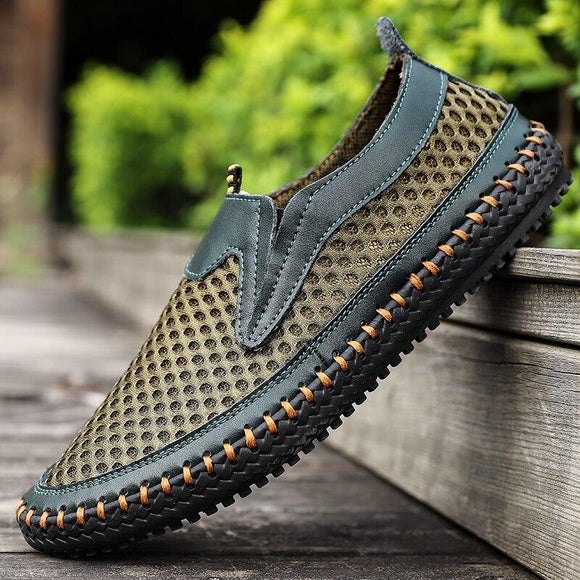 Mens New Leisure Summer Outdoor Beach Sandals Mesh