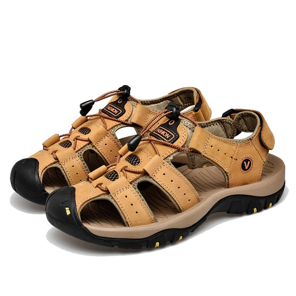 Hot Sale Genuine Leather Men Sandals