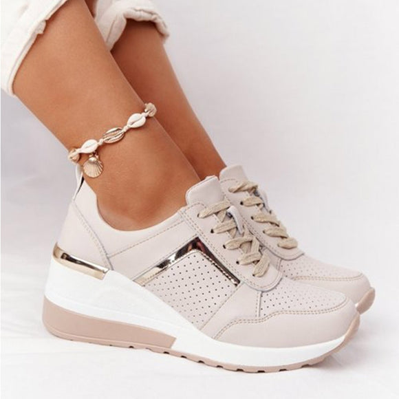 New Women Comfy Increasing Sneakers