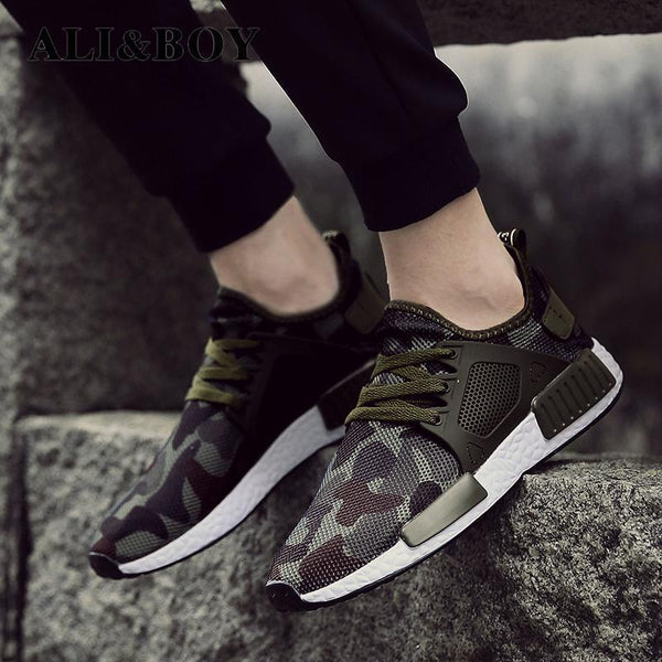 Shoes - New Outdoor Military Camouflage Casual Shoes