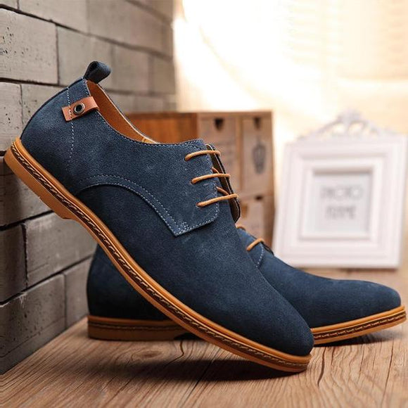 Shoes - Autumn and Winter Warm Breathable Men's Suede Shoes