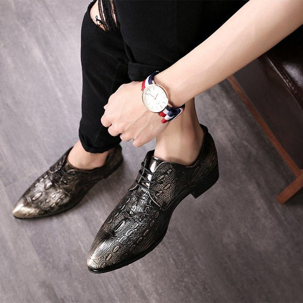 Shoes - 2019 New Style Men Leather Dress Shoes