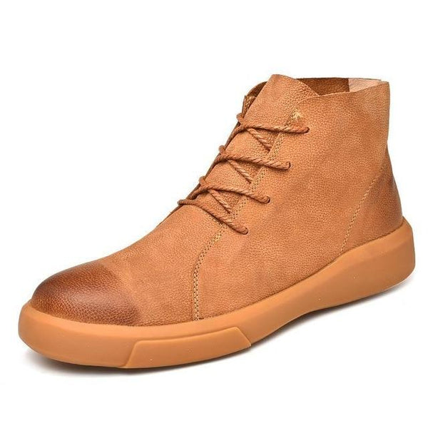 Shoes - Autumn Winter Real Leather Men Boot