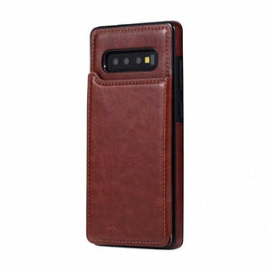 2020 Luxury Shockproof Armor Leather Wallet Magnet Flip Case For Samsung Note 10 pro S10 plus S10 lite S10 Note 9 8 S9 S8 Plus