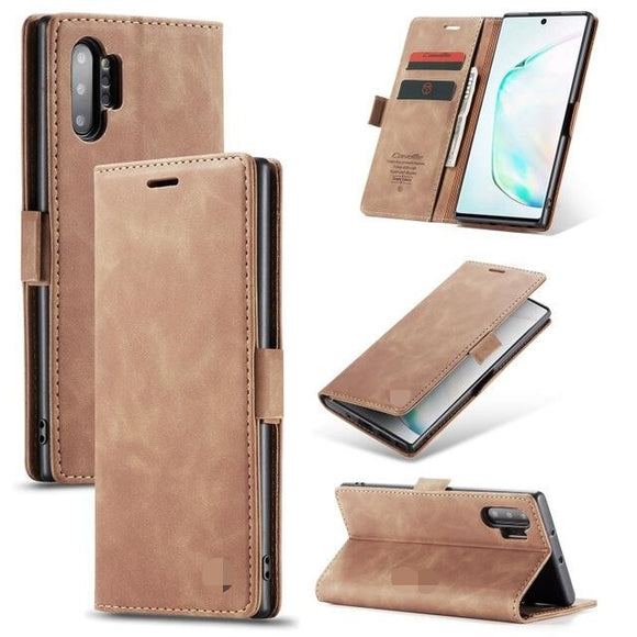 Luxury Flip Retro Leather Card Holder Flip Cover Case For Samsung Note 10 pro S10 plus S10 lite S10 Note 9 8 S9 S8 Plus