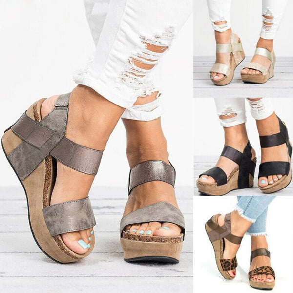 Casual Comfortable Bohemian Holiday Wedge Sandals
