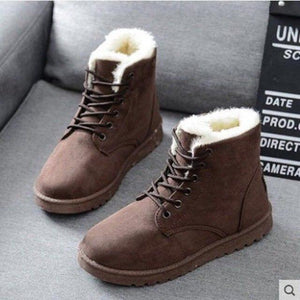 Women Cute Comfortable Warm Snow Boots