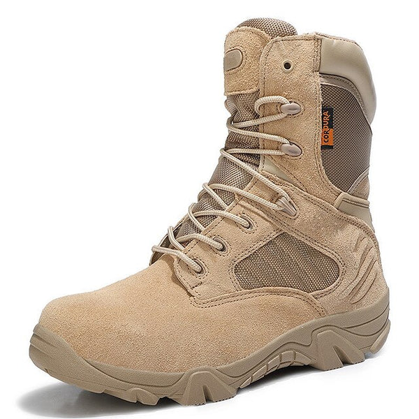 Yokest Men's Combat Army Desert Ankle Boot(Buy 2 Get 10% off, 3 Get 15% off )