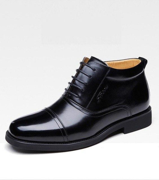Men Shoes - Warm painted genuine leather martin boots