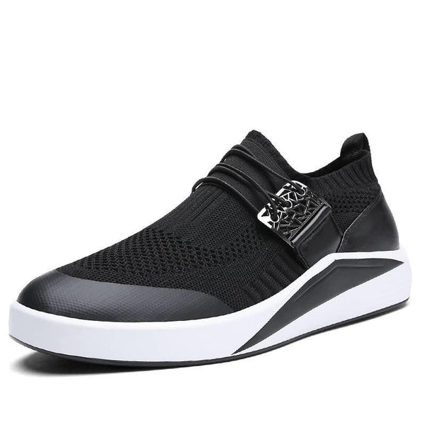 Men's Shoes - Breathable Elasticity Super Light Sneakers