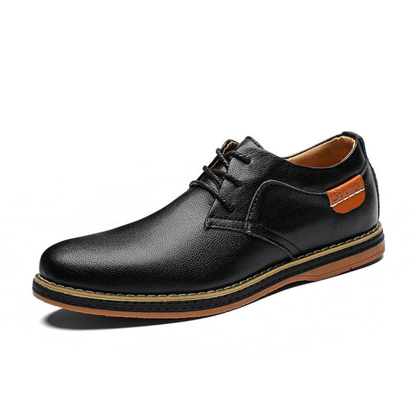 Men's Shoes - Casual Large Size Round Toe Comfortable Men Casual Oxford Shoes